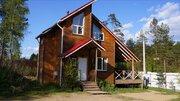 Двухэтажный коттедж с финской купелью в пос. Керро - Фото 1