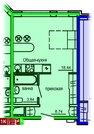 Продажа однокомнатные апартаменты 30.03м2 в Апарт-отель Юмашева 6
