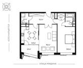 2-комн. квартира 74,2 кв.м. в новом 7-ми этажном доме САО г. Москвы, Купить квартиру в новостройке от застройщика в Москве, ID объекта - 321970808 - Фото 6