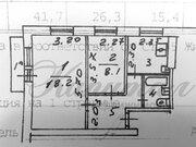 Двухкомнатная квартира, г. Москва, ул. Сеславинская, д. 38, Купить квартиру в Москве по недорогой цене, ID объекта - 317922597 - Фото 7