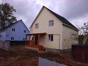 Купить дом из бруса в Чеховском районе пос. Столбовая, ул. Чехова - Фото 1