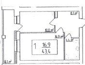 Владимир, Студенческая ул, д.18д, 1-комнатная квартира на продажу - Фото 1