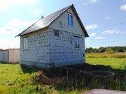 Новый пеноблочный дом с коммуникациями в г.Киржач