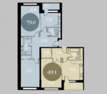 Продается квартира г.Москва, Краснобогатырская улица, Купить квартиру в Москве по недорогой цене, ID объекта - 320733904 - Фото 12