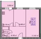 Продажа 2-х комнатной квартиры в новостройке - Фото 3