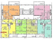 Продам однокомнатную квартиру Дзержинского 19 стр 36 кв.м 8 эт 1292т.р - Фото 3