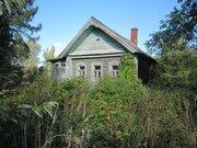15 соток земли с домом в деревне Демидово в 100 км. от МКАД