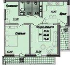 2 к.кв, нси, Октябрьская, д.181, Купить квартиру в Краснодаре по недорогой цене, ID объекта - 319457474 - Фото 3