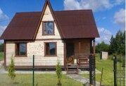 Продам зимний дом 80 кв.м, 13 сот, озера Врево в 500 метрах - Фото 1