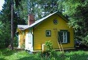 Участок 12 соток с дачным крепким домом в окружении леса. Недалеко .