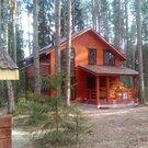 Новый дом хвойный лес на своем участке и берег Волги