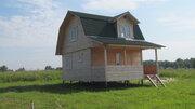 Брусовой дом 60кв.м. на участке 38 соток в д.Скрипово, Заокский р-он - Фото 2