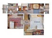 Отличная 3-комнатная квартира в Южном Бутово!, Купить квартиру по аукциону в Москве по недорогой цене, ID объекта - 328406326 - Фото 50