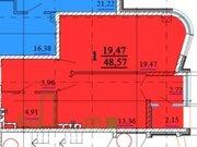 Продажа однокомнатной квартиры на Кирпичной улице, 65 в Белгороде, Купить квартиру в Белгороде по недорогой цене, ID объекта - 319751942 - Фото 2