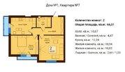 Продажа квартиры, Невское, Багратионовский район, Орудийная улица - Фото 1