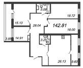Продажа 4-комнатной квартиры, 142.81 м2, Купить квартиру в новостройке от застройщика в Санкт-Петербурге, ID объекта - 324730063 - Фото 2