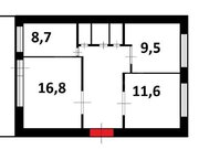 Продажа трехкомнатной квартиры на улице Свердлова, 224 в Стерлитамаке, Купить квартиру в Стерлитамаке по недорогой цене, ID объекта - 320177639 - Фото 1