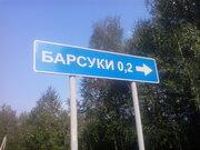 Участок д. Барсуки 60 сот Егорьевский р-он Московская обл - Фото 1