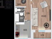 Продажа однокомнатной квартиры в новостройке на Корейской улице, влд6а ., Купить квартиру в Воронеже по недорогой цене, ID объекта - 320574549 - Фото 2