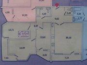 6 650 000 Руб., Купить квартиру в Новороссийске, трехкомнатная с ремонтом, монолит., Купить квартиру в Новороссийске по недорогой цене, ID объекта - 317321181 - Фото 17