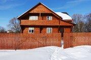 Новый дом 190 кв.м из оц. бревна В жилой деревне в 80 км от МКАД