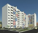 Продается 3-комнатная квартира в новом домев мкр. Юрьевец