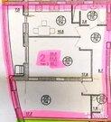 2-комнатная квартира в Дубне (Левый берег) - Фото 3