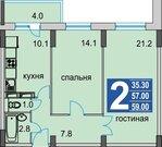 Продам 2-к квартиру, Раменское г, Молодежная улица 27 - Фото 1