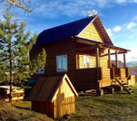 Продам новый дом в деревне у реки - Фото 1