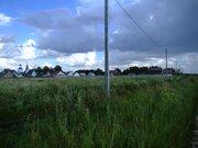 14 соток в газифицированной деревне рядом с лесом и рекой - Фото 1