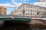 Настоящая Петербургская 2к квартира с видом на кан Грибоедова, Купить квартиру в Санкт-Петербурге по недорогой цене, ID объекта - 317323234 - Фото 9