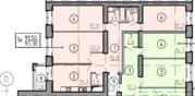 Трехкомнатная квартира в строящемся доме от застройщика, Купить квартиру в новостройке от застройщика в Омске, ID объекта - 317676941 - Фото 8