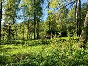 Участок 20 сот ИЖС на 1-й линии реки в гор. Руза.