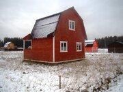 Новый дачный дом в СНТ Удача - 95 км Щелковское шоссе