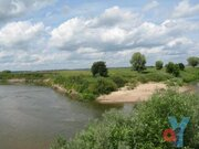 Участок в уникальном месте на берегу реки Жиздра - Фото 3