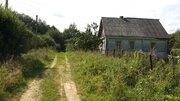 Дом с баней в глухой деревне