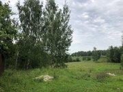 Участок с газом, 20 соток, с ландшафтом, д. Змеевка, Чеховский район - Фото 2
