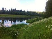 18 соток в деревне на берегу реки, Полуэктово, Рузский район - Фото 1