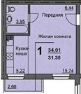 Продажа квартиры, Курган, 16 микрорайон, Купить квартиру в Кургане, ID объекта - 332279802 - Фото 1