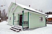 Сахарово. Подольск. Новая Москва. Жилой дом из бруса со всеми зимни.