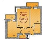 2 комнатная квартира в новом сданном доме в Александровке, ул. .