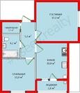 1 590 000 Руб., 2-х комнатная квартира в Ставрополе, Купить квартиру в новостройке от застройщика в Ставрополе, ID объекта - 320495016 - Фото 2