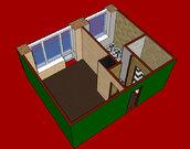 1 100 000 Руб., 1 (одна) комнатная квартира в Центральном (Заводском) районе города., Купить квартиру в Кемерово по недорогой цене, ID объекта - 328487230 - Фото 3