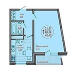 Квартира, Купить квартиру в Краснодаре по недорогой цене, ID объекта - 318360029 - Фото 6