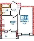 Покупка данной квартиры является удачным выбором, Купить квартиру в новостройке от застройщика в Ставрополе, ID объекта - 320705349 - Фото 3