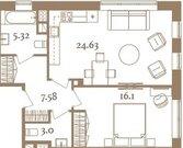 Продается 1к квартира в строящемся доме премиум класса - Фото 4