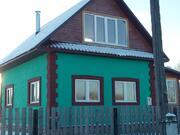 Новый блочный дом 110 м2 с Участком 30 сотокижс и гость.домиком в селе - Фото 1