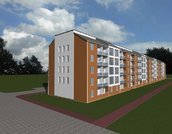 2х уровневая, 4х к. квартира, свободной план площадью 110, 39 м. кв. - Фото 5