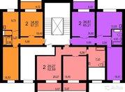 2-к квартира, 53 м, 1/10 эт.