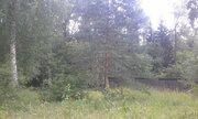 Лесной участок со старым домом с коммуникациями в посёлке на Рублёвке - Фото 1